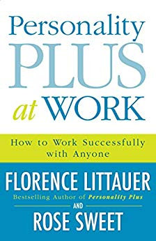 PERSONALITY PLUS AT WORK - FLORENCE LITTAUER