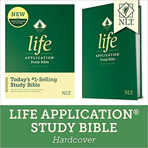 BIBLE NLT LIFE 307 APPLICATION STUDY HARD COVER 8.5 PT RL 3RD ED