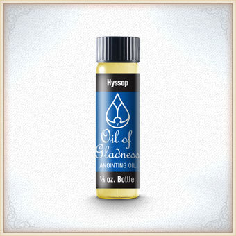 ANOINTING OIL HYSSOP 084 1/4 OZ 1008