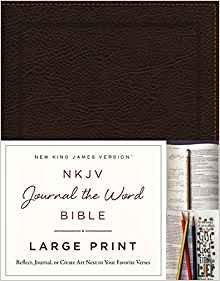 NKJV Journal the Word Large 890 Brown Bonded