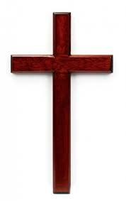 Wooden Cross 24 inch C60