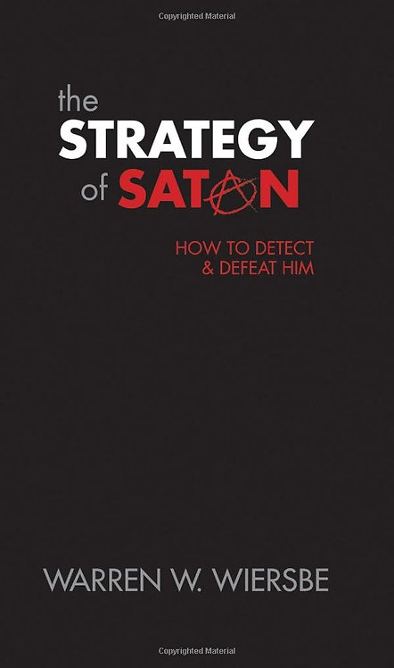 Strategy of Satan Warren Wiersbe Author