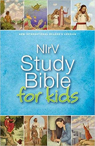 BIBLE CHILDREN NIRV STUDY FOR KIDS 030 Age 6 - 10 Hard Cover 9 PT