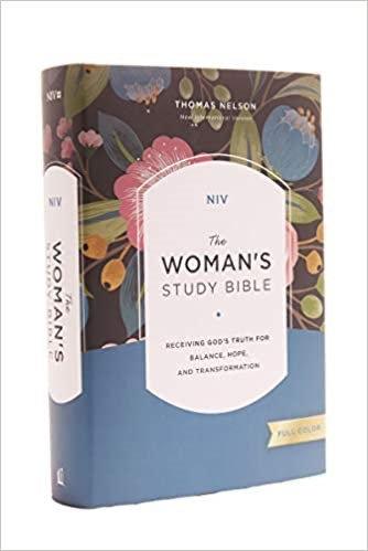 BIBLE NIV WOMANS STUDY Hard Cover 10.5 PT FULL COLOR RL
