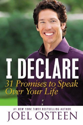 I Declare Joel Osteen Author