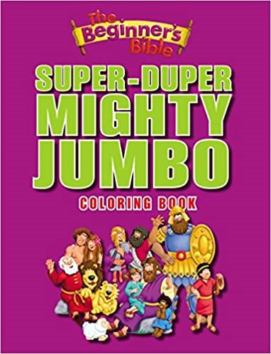 CHILD SUPER DUPER AGE 2 TO 4 CHILDREN JUMBO COLORING 320 PG BEGINNER BIBLE