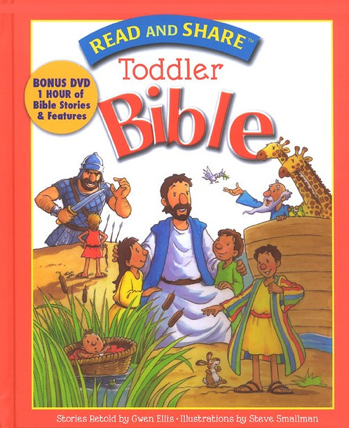 Read and Share Toddler Bible with DVD Gwen Ellis