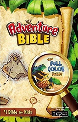 BIBLE CHILDREN NIV 477 ADVENTURE Hard Cover AGE 9 - 12 8.75 PT