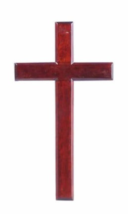 Cross 6 Inch Wood Plain C15