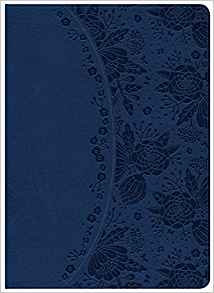 KJV Study 196 Blue Leathertouch