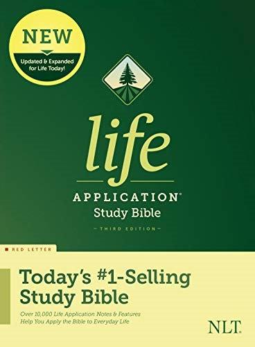BIBLE NLT LIFE 824 APPLICATION Hard Cover 3RD ED