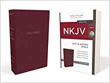 NKJV GIFT N AWARD 071 BURGUNDY LEATHERFLEX