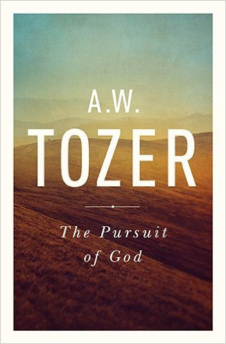 Pursuit of God AW Tozer Author different cover
