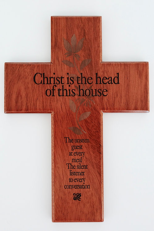 Cross Christ is Head 14 cm x 20 cm CEP1-20AWooded