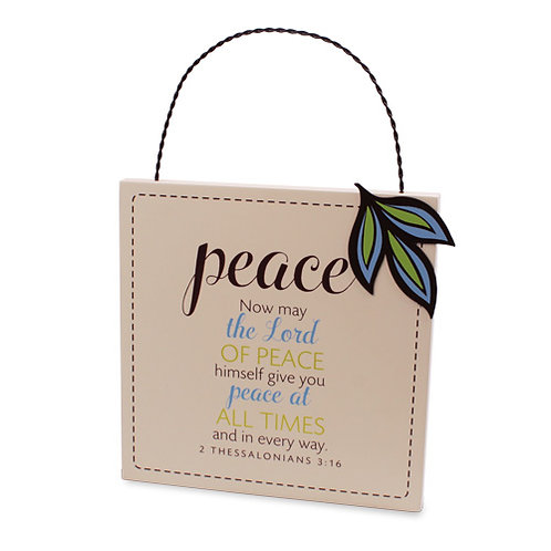 Plaque Peace 40335