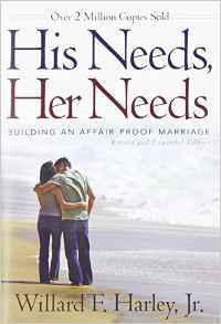 His Needs Her Needs Willard Harley Marriage DIFFERENT COVER