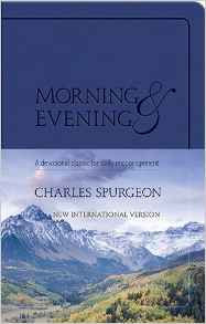Morning & Evening Charles Spurgeon paperback different picture