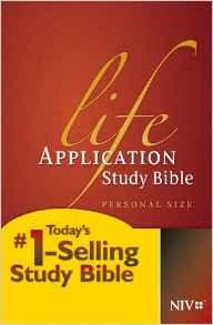 BIBLE NIV LIFE APPLICATION PERSONAL 809 Hard Cover 7.7 PT