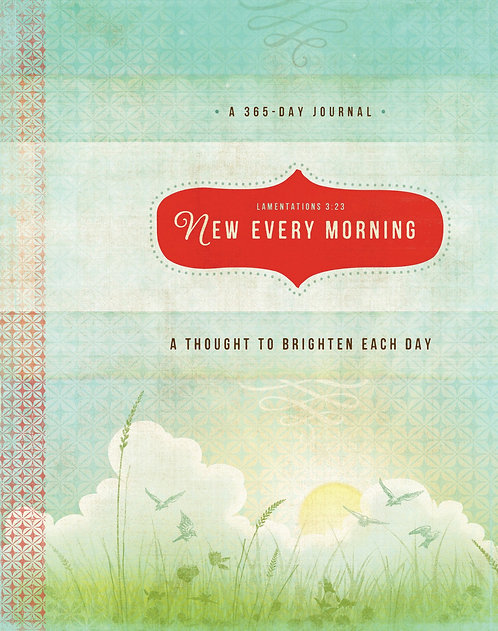 Journal New Every Morning