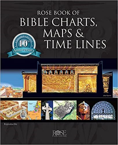 Rose Book of Bible Charts, Maps, and Time Lines (Spiralbound)