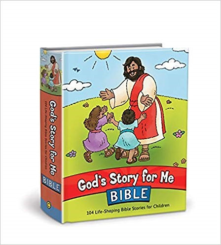 GOD'S STORY FOR ME BIBLE- DAVID COOK (HARD COVER, AGE 2-6, 001)