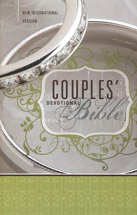 NIV Couples' Devotional Bible Hardcover 151