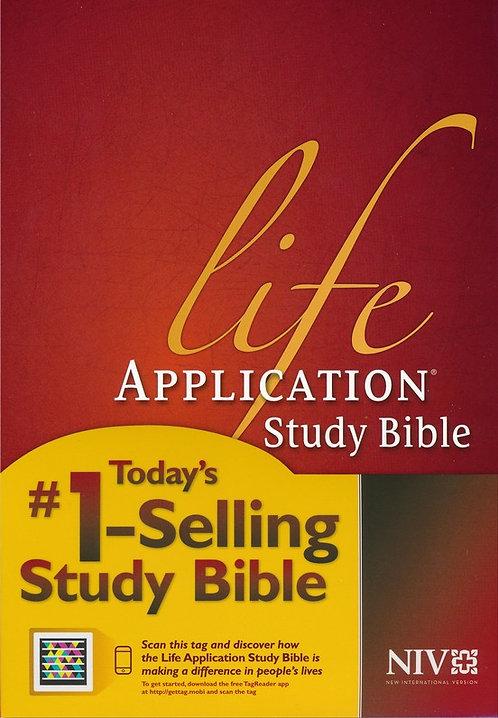 NIV Life Application Study 755 Bible Index HC