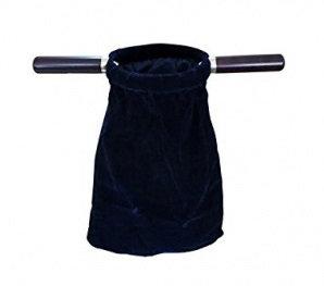 Offering Bag Blue Wood Handle OB02B