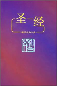 CUV Chinese Bible simplified SC 913 yellow cover