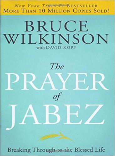Prayer of Jabez Bruce Wilkinson Prayer Hardcover 756