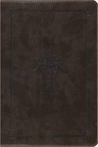 ESV STUDY PERSONAL BIBLE 707 BROWN TRUTONE 7.5 PT