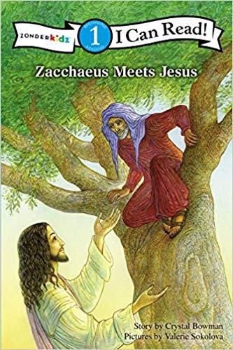 Zacchaeus Meets Jesus: Level 1 - Crystal Bowman (Paperback)