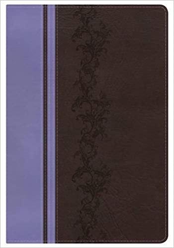 BIBLE KJV RAINBOW STUDY INDEX 593 BROWN IMITATION CENTER COLUM UNDER LINE 10 PT