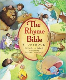 Rhyme Bible Storybook Children LJ Sattgast