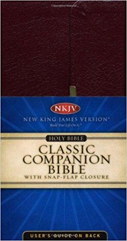 NKJV CHECKBOOK BIBLE 428 BURGUNDY BONDED