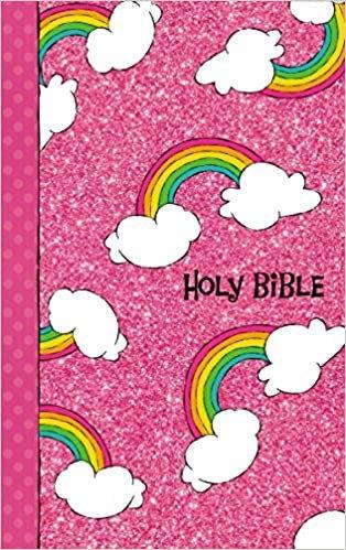 NIV GODS RAINBOW CHILDREN 9.4 PT  AGE 6 TO 10