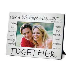 PHOTO FRAME TOGETHER 17013 CLASSIC METAL