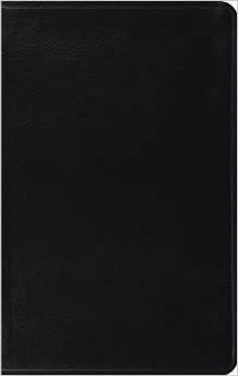ESV Thinline Black Bonded Leather 731