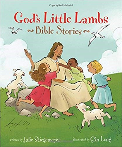 God's Little Lambs Bible Stories - Julie Stiegemeyer (Hard Cover)