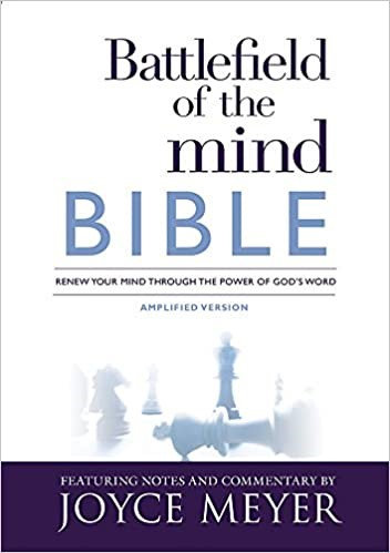 BIBLE BATTLEFIELD OF THE MIND AMPLIFIED HC JOYCE MEYER