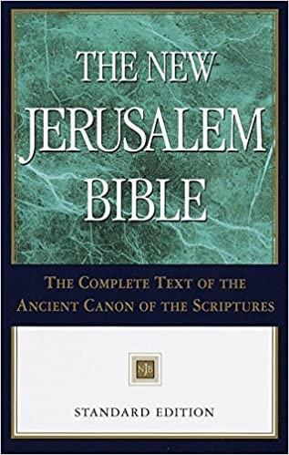 BIBLE NEW JERUSALEM 208 HENRY WANSBROUGH STANDARD VERSION HC
