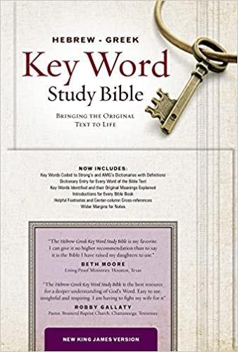 NKJV HEBREW GREEK KEY WORD INDEX BLACK GENUINE CC RL 10.5 PT