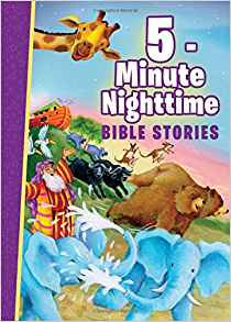 5 MINUTE NIGHT TIME BIBLE STORIES CHILDREN HC AGE 2 - 7