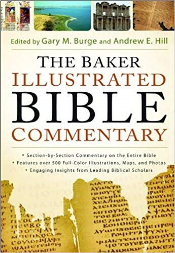BAKER ILLUSTRATED BIBLE COMMENTARY - GARY BURGE (HARD COVER)