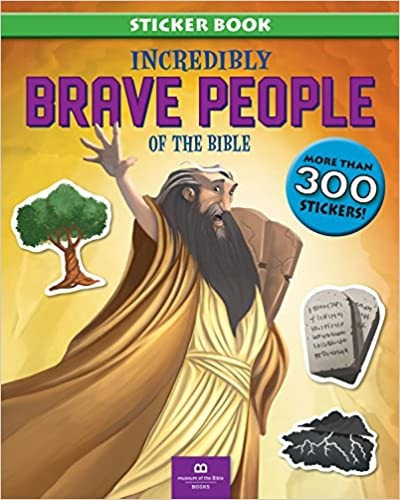 INCREDIBLY BRAVE PEOPLE OF THE BIBLE CHILDREN AGE 4 TO 6 300 STICKERS 32