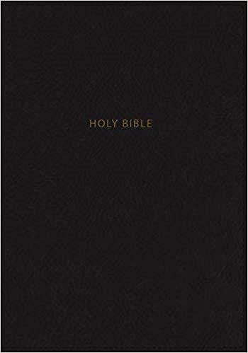 BIBLE NKJV PERSONAL GIANT INDEX 872 REF BLACK LEATHERSOFT  11.5 PT RL