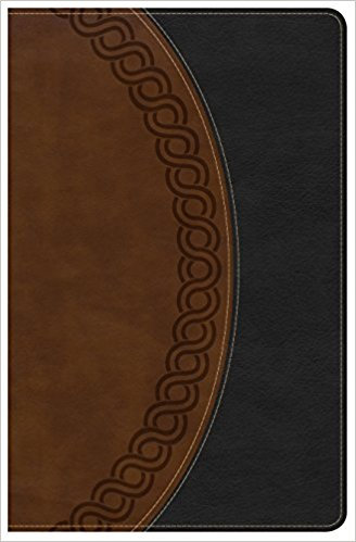 NKJV Deluxe 691 Personal Large Brown Leather