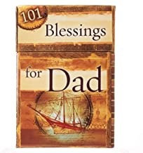 PROMISE BOX 101 BLESSINGS FOR DAD BX033 BROWN