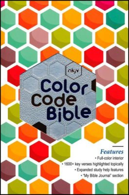 NKJV Color Code Bible 272 leathersoft Full Color