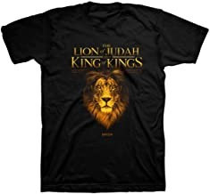 T SHIRT KING LION LARGE BLACK APT3313LG